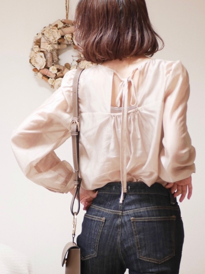 【Re Arrival】chiffon blouse[kanako select]