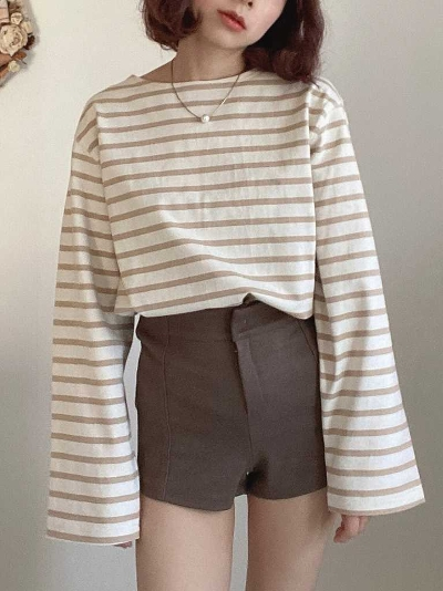 【Re Arrival】french border pullover[kanako select]